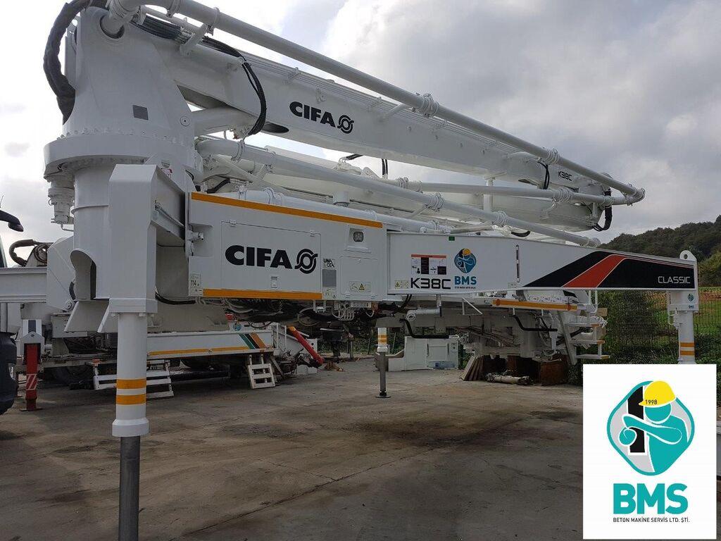 CIFA K 38 C concrete pump