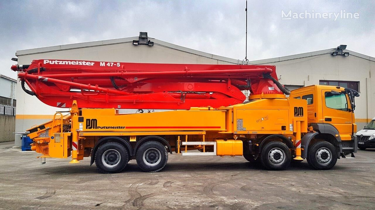 MERCEDES-BENZ Axor 4140 8x4 - 2015 Putzmeister 47 Ergonic SPECIAL EDITION concrete pump