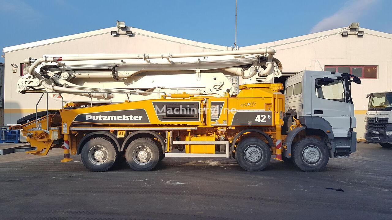 MERCEDES-BENZ  Axor 4140 8x4 - Putzmeister 42 Meter Ergonic concrete pump