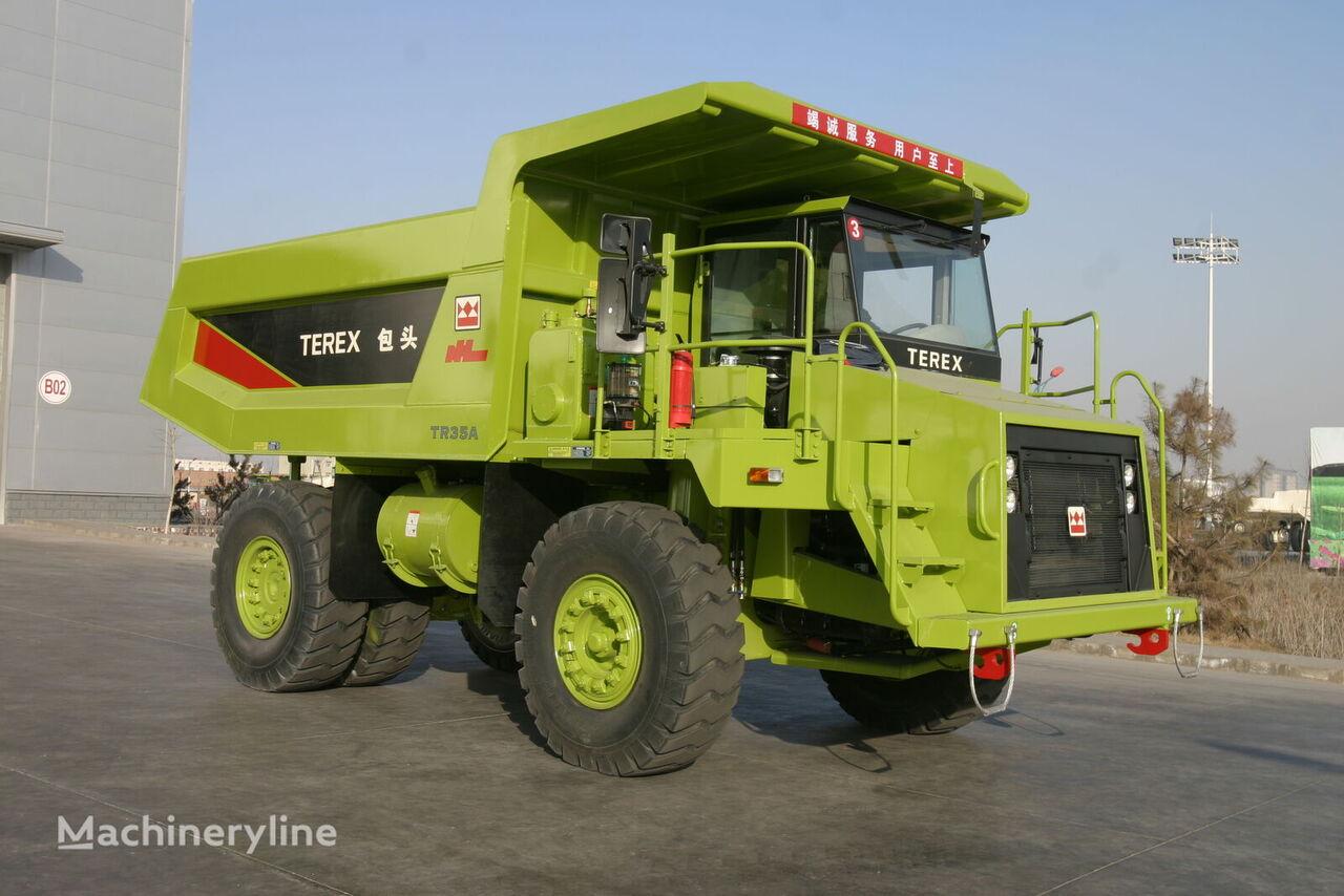 new TEREX 35A haul truck