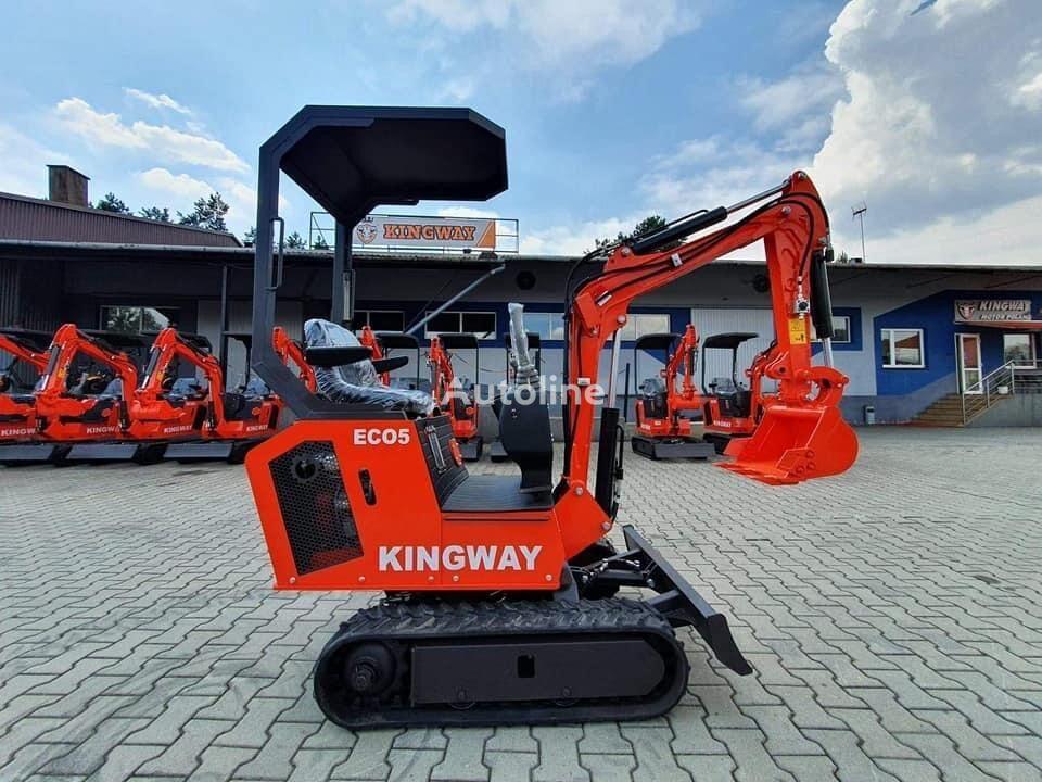 new KINGWAY Eco 5 +lyzki 300/500/800 mini excavator