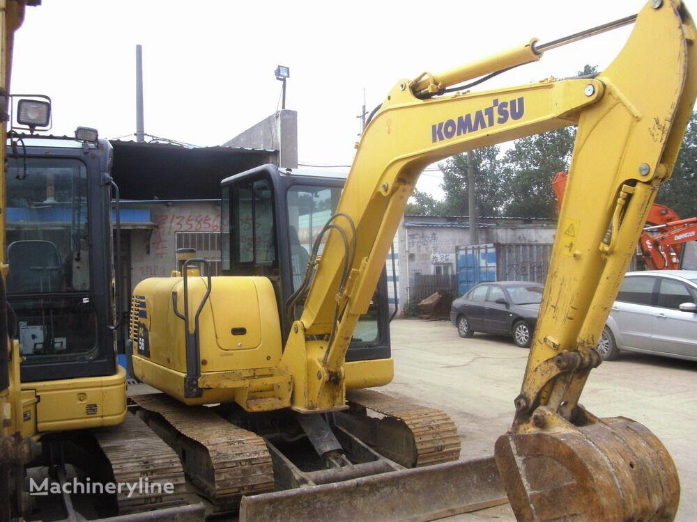 KOMATSU PC56 mini excavator