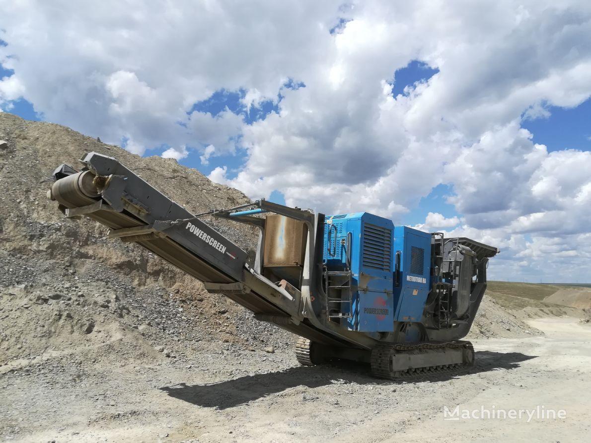 POWERSCREEN Metrotrak HA mobile crushing plant
