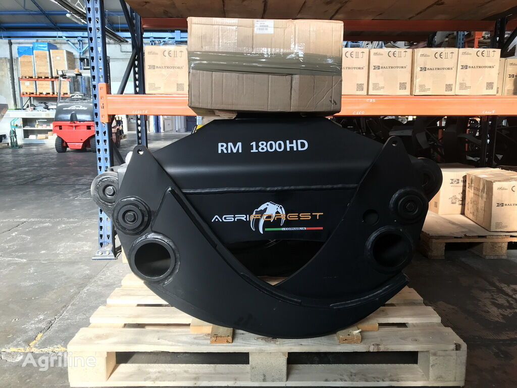 AGRIFOREST RM1800HD wood grapple