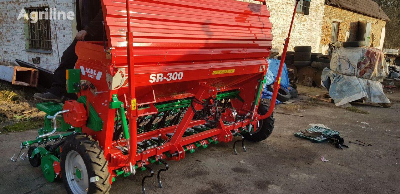 new AGRO-MASZ Sivalka zernova 3 m SR300II Garantiya 1 RIK! mechanical seed drill