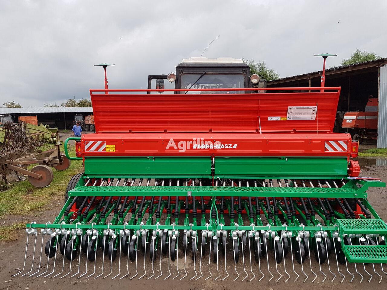 new AGRO-MASZ Sivalka zernova mehanichna nova SR400 II Amazone mechanical seed drill