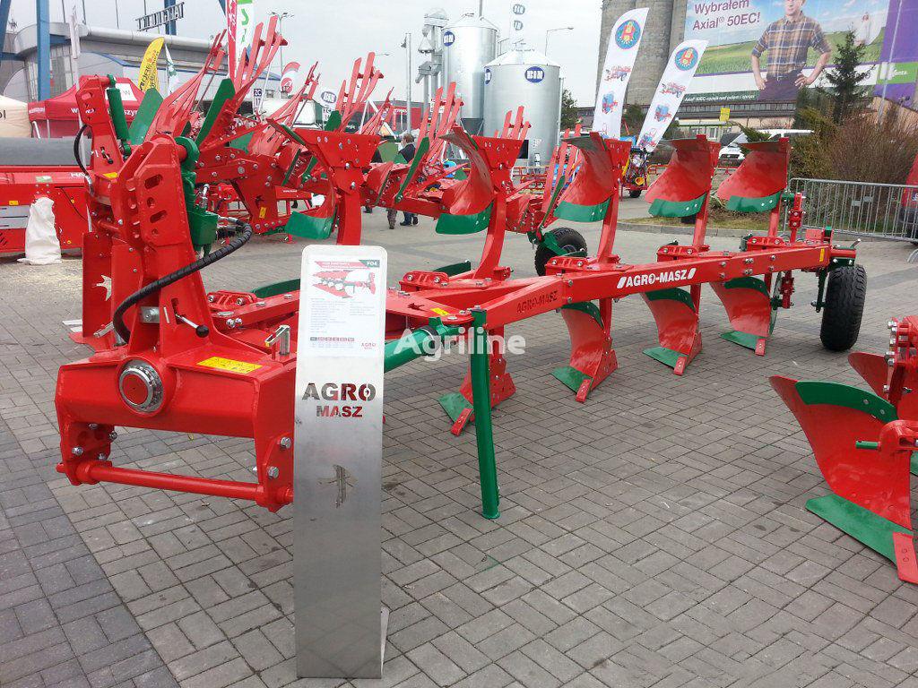 new AGRO-MASZ Plug oborotniy 4+1 (35*40*45*50 sm) Rama 140h140 Garantiya 3 ROKI reversible plough