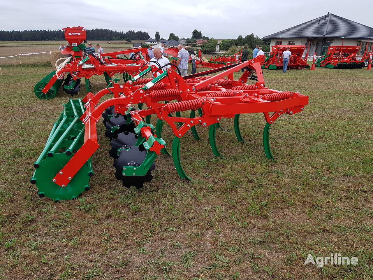 new AGRO-MASZ RUNNER  stubble cultivator