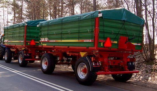 new Metal-Technik DB 10,000 Landwirtschaftlicher Anhänger/Remolque Agricultor/Agri tractor trailer