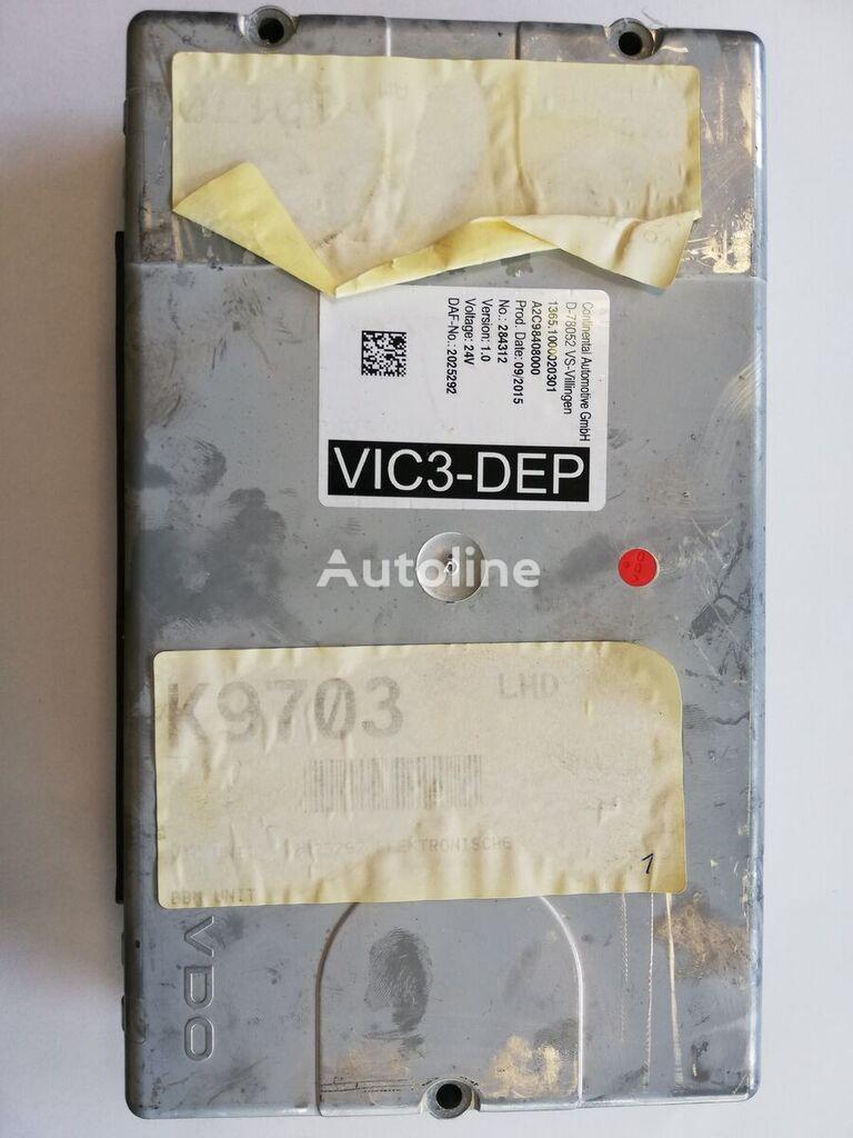 DAF VIC 3 Wersja 1.0 control unit for DAF XF 106 EURO 6 tractor unit