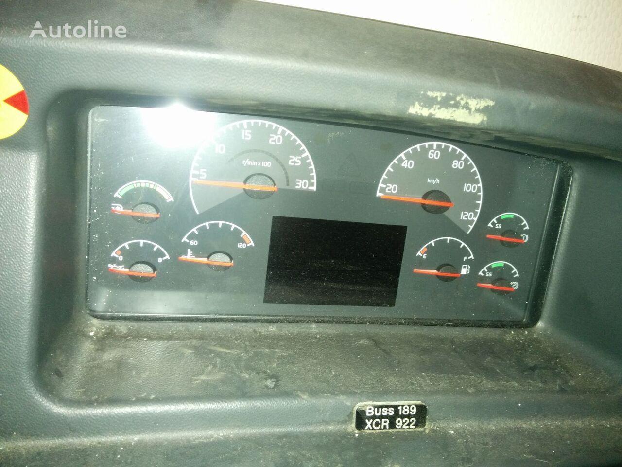 VOLVO klimat kontrol dashboard for VOLVO B12 bus
