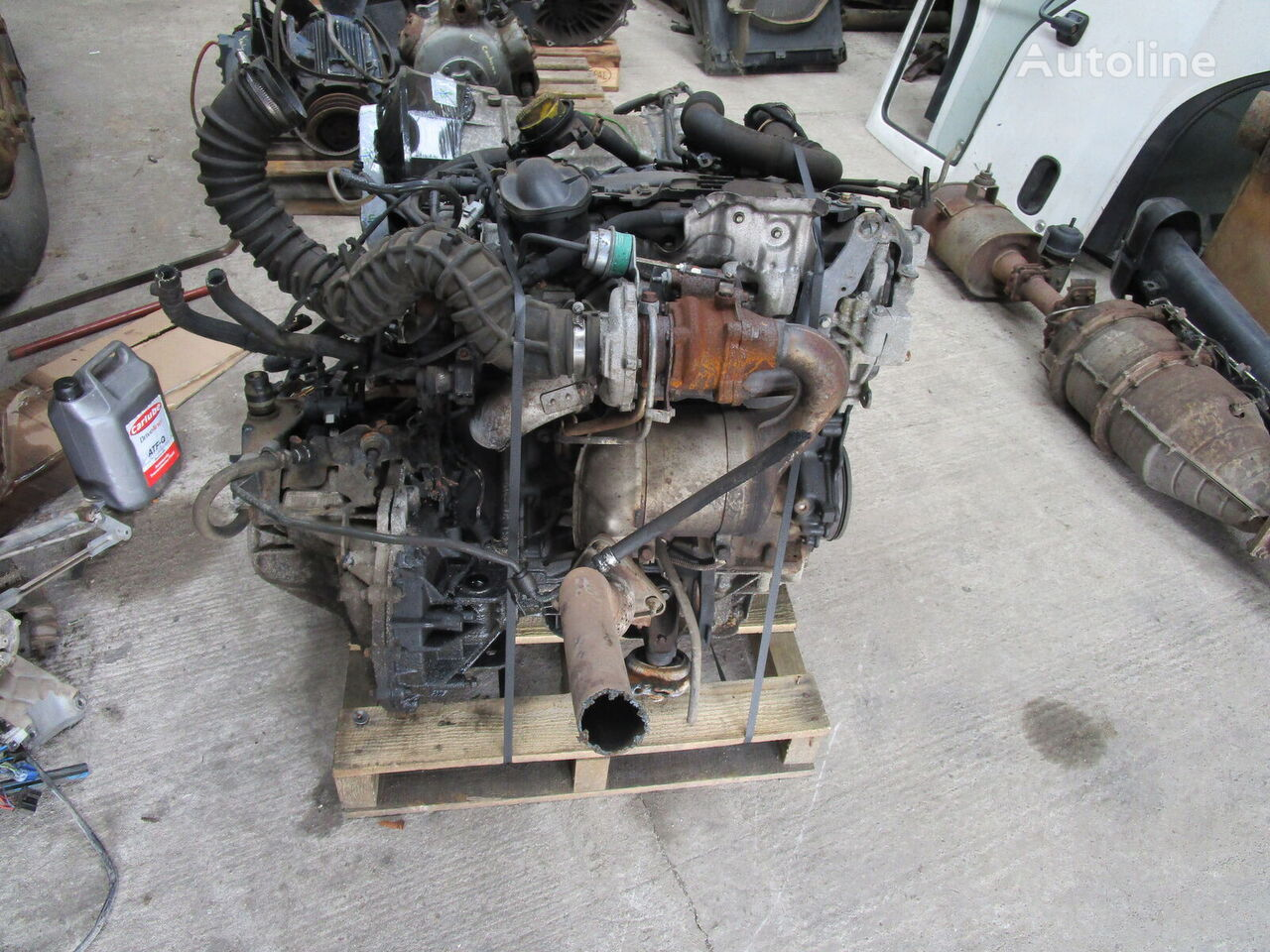 RENAULT engine for RENAULT TRAFFIC 1.9 DTi truck