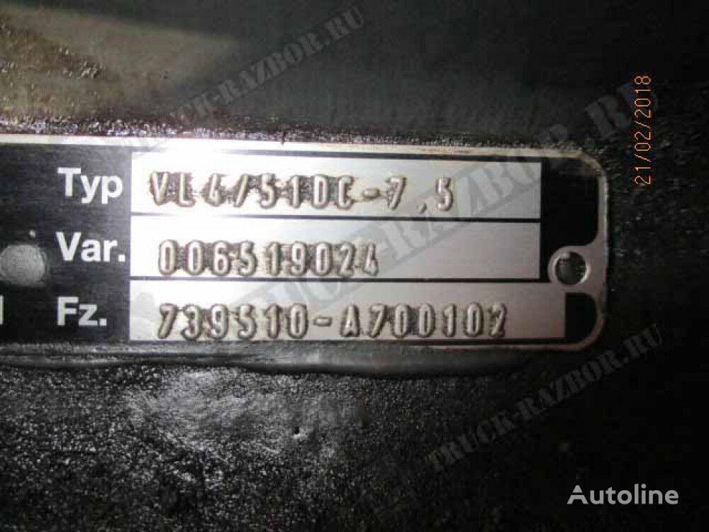 balka v sbore (9433312101) fasteners for MERCEDES-BENZ tractor unit
