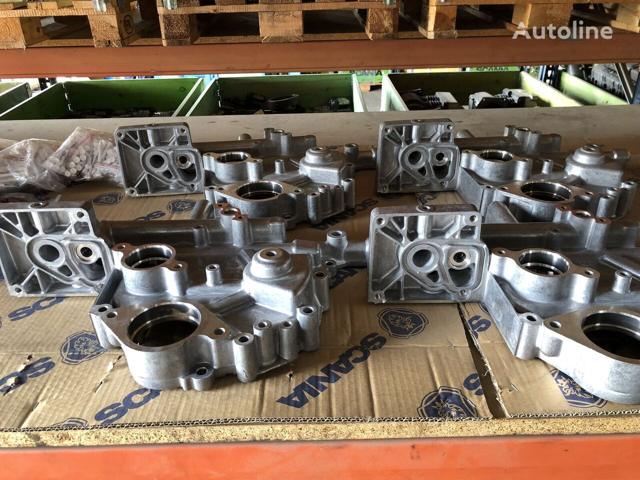 new SCANIA gearbox housing for truck