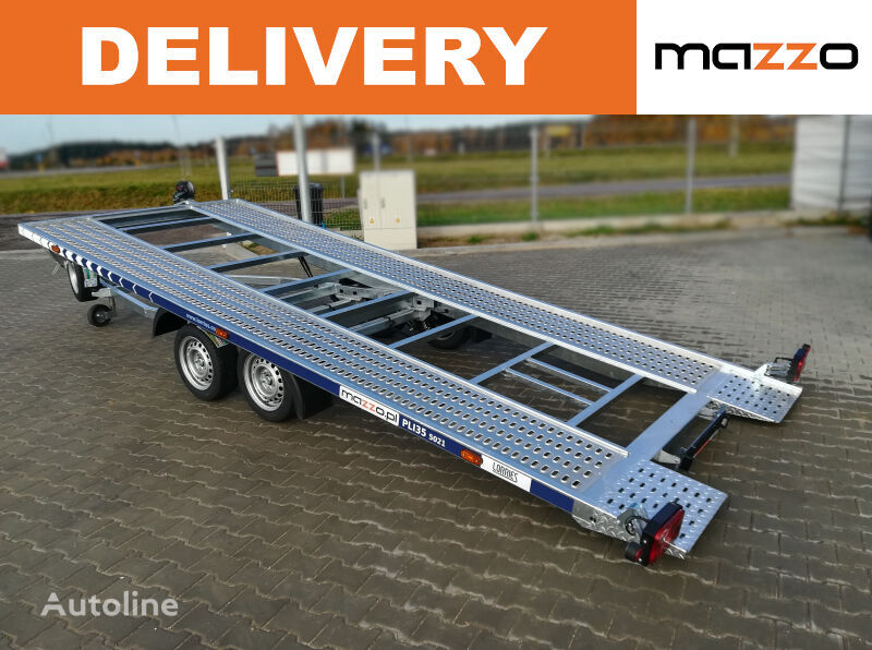 new PLI 35-5021 car transporter trailer