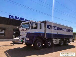 GINAF M 4446-S 8x8 assistentie voertuig box truck