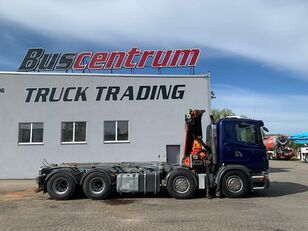 SCANIA R 480 8x4 Crane Palfinger PK 20002 cable system truck