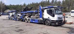 IVECO car transporter + car transporter trailer