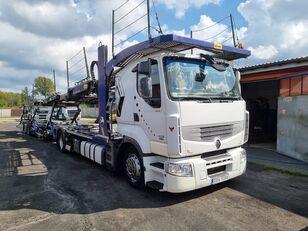RENAULT PREMIUM 450DXI SILVER CAR car transporter + car transporter trailer