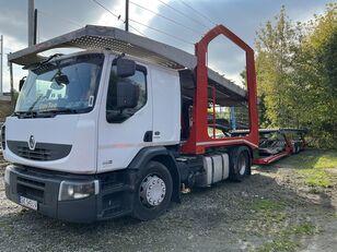 RENAULT Premium 460 EEV car transporter + car transporter trailer