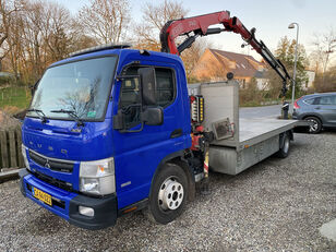 Mitsubishi Fuso Canter car transporter