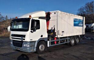 DAF 85.410 curtainsider truck