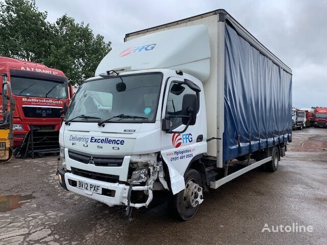 Mitsubishi Fuso 7.5T 2012 BREAKING FOR SPARES curtainsider truck for parts