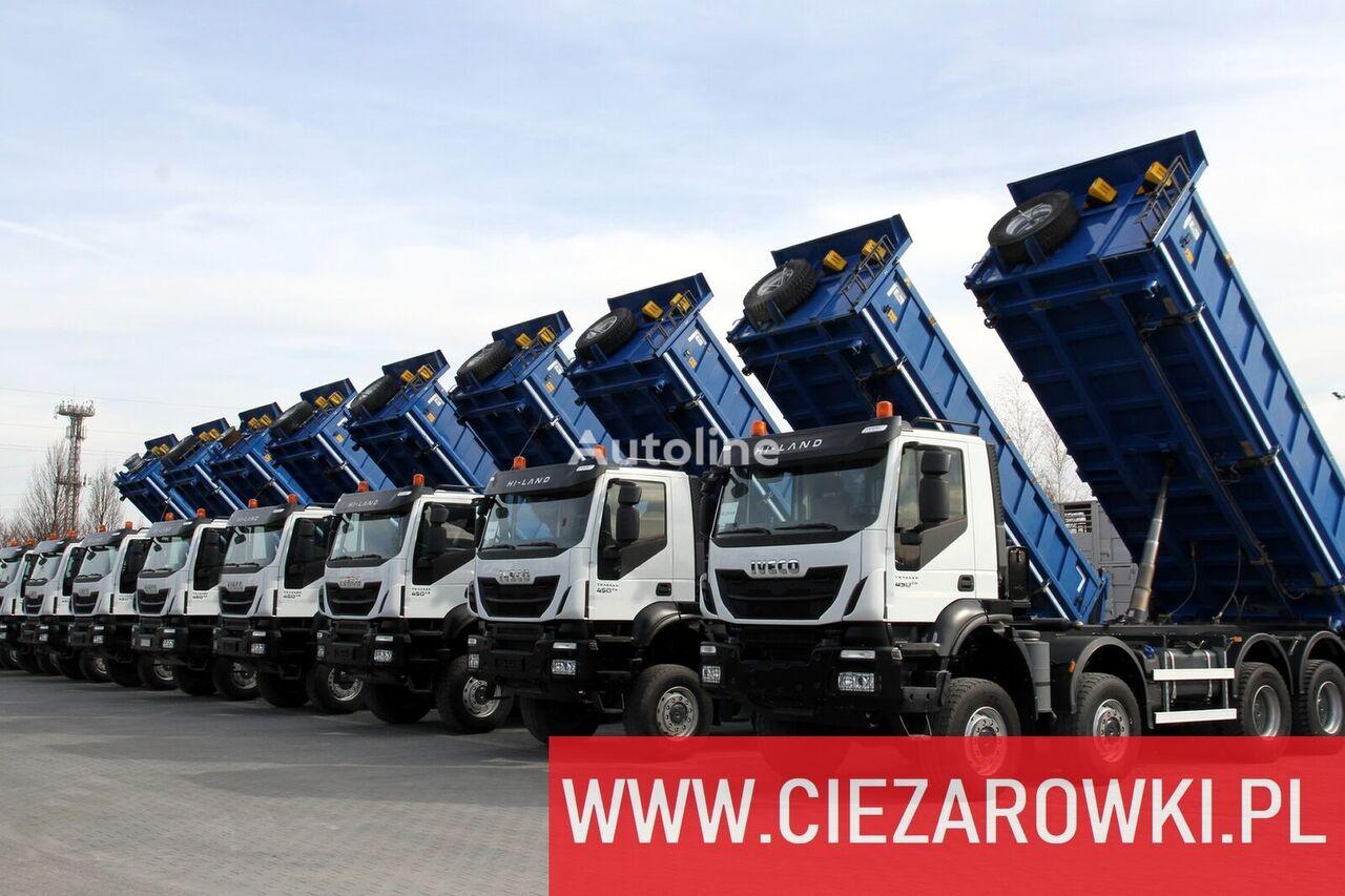 IVECO Trakker , 8x8 , E6 , Retarder , manual, 2018 , 10 units for sale dump truck