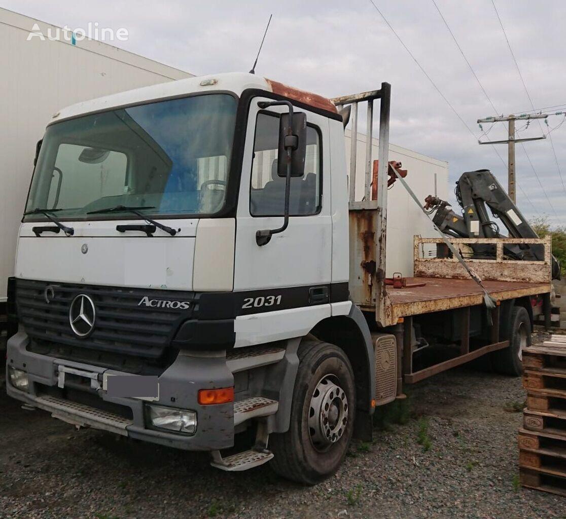 MERCEDES-BENZ ACTROS 2031 flatbed truck