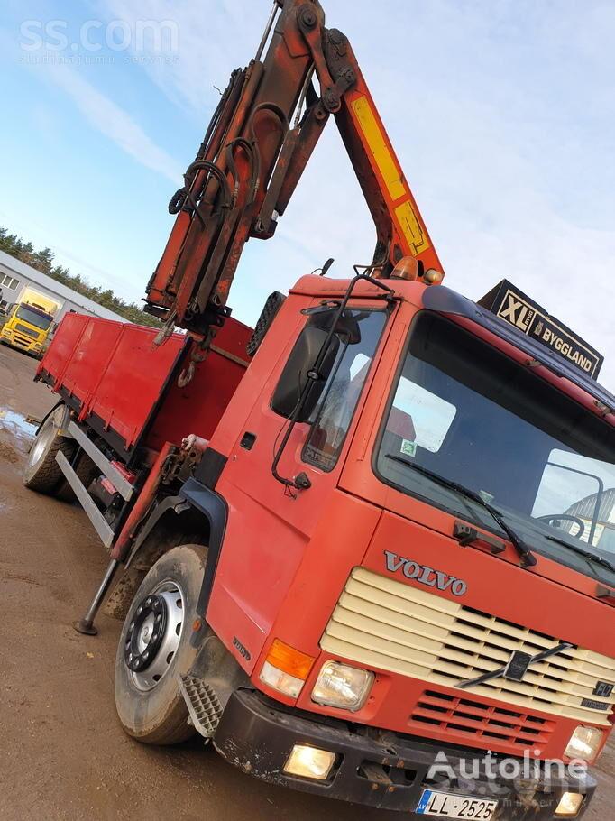 VOLVO FL 7 flatbed truck