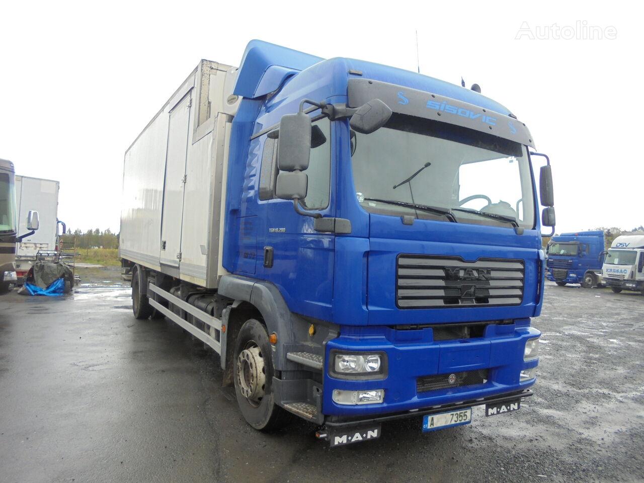 MAN TGM 18.280 FRIGO, CARRIER SUPRA 950, isothermal truck