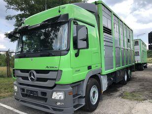 MERCEDES-BENZ Actros 2541 MP3, 6x2, 3-stock, KABA, Retarder, Klima, Deutsche a livestock truck