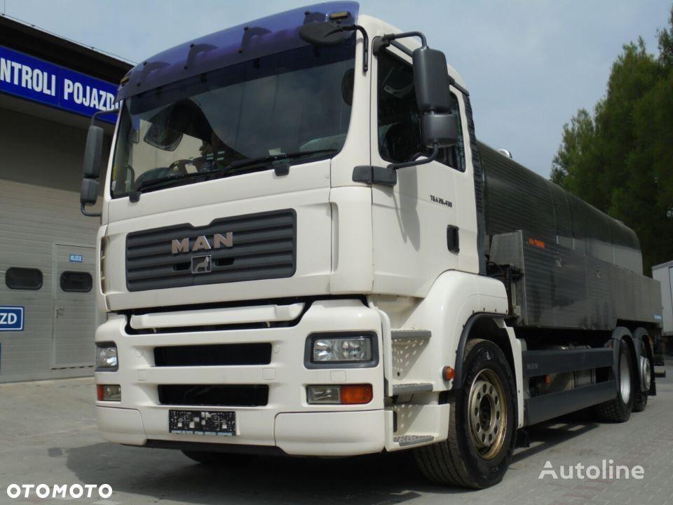 MAN TGA 26.430 milk tanker