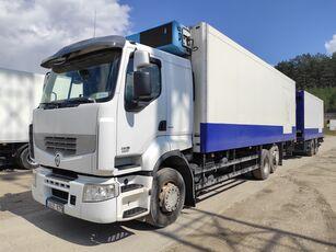 RENAULT PREMIUM refrigerated truck + refrigerated trailer