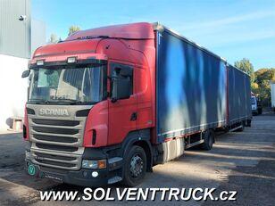 SCANIA R400,Euro 5, Automat tilt truck + tilt trailer