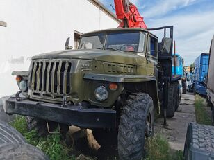 URAL HYAB timber truck