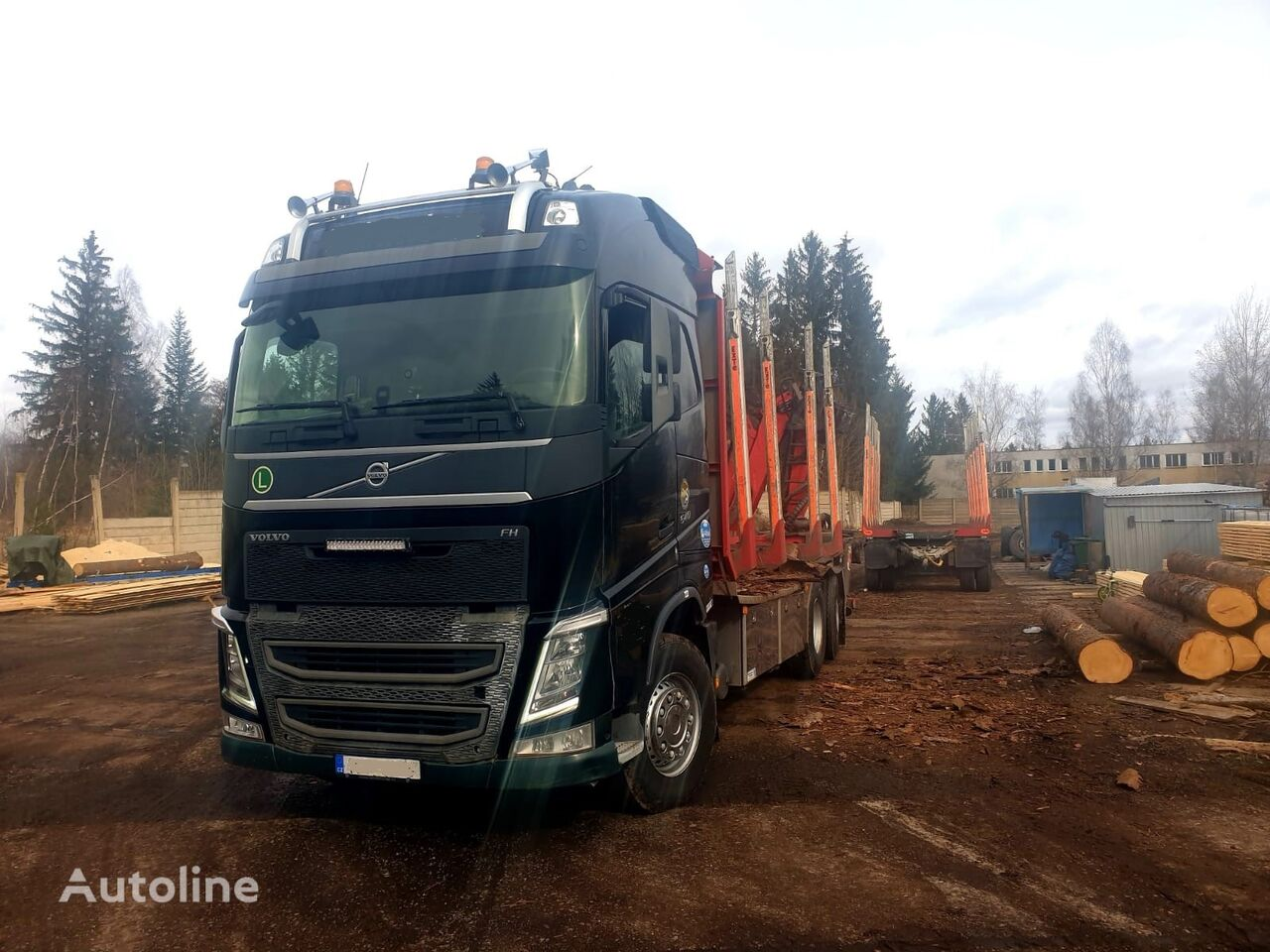 VOLVO FH 540 timber truck
