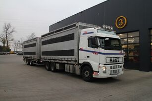 VOLVO FH12.480 6x4 transport of poultry + closed box trailer